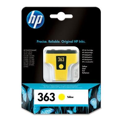 HP 363 C8773E žltá (yellow) originálna cartridge