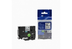 Kompatibilná páska s Brother TZ-FX541 / TZe-FX541,18mm x 8m, flexi, čierna tlač / modrý podklad