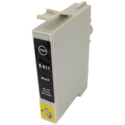 Epson T0611 čierna (black) kompatibilná cartridge