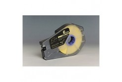 Kompatibilná samolepiaca páska pre Canon M-1 Std/M-1 Pro / Partex, 6mm x 30m, kazeta, žltá