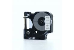 Kompatibilná páska s Dymo 45013, S0720530, 12mm x 7m, čierna tlač/biely podklad