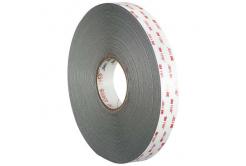 3M VHB 4941-P, 9 mm x 3 m, světle šedá oboustranně velmi silně lepicí akrylová páska, tl. 1,1 mm