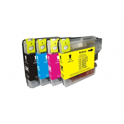 Brother LC-980/LC-985/LC-1100 multipack kompatibilní cartridge