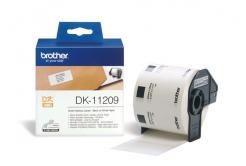 Brother DK-11209, 29mm x 62mm, originálna papierová role