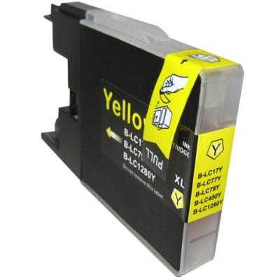 Brother LC-1240 / LC-1280 žltá (yellow) kompatibilná cartridge