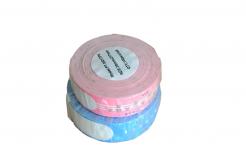 Brother PT-W260PK, 35mm x 260mm, 100ks, černý tisk / ružový podklad, kompatibilní role etiket - narámek, kompatibilní páska