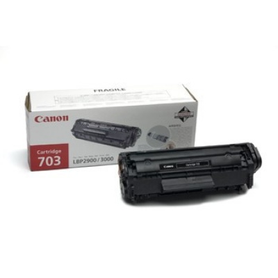 Canon CRG-703 čierna (black) originálný toner