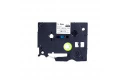 Kompatibilná páska s Brother HSe-111, 5,8mm x 1,5m, čierna tlač / priehľadný podklad