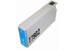 Epson T7902 azúrova (cyan) kompatibilna cartridge