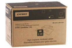 Dymo S0947410, 89mm x 28mm, bílé adresní papírové štítky