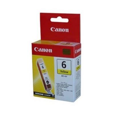 Canon BCI-6Y žlutá (yellow) originální cartridge