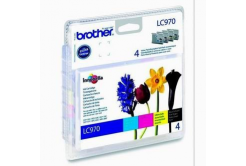 Brother LC-970VALBP multipack originálna cartridge