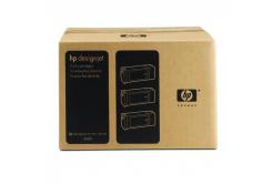 HP 90 C5095A 3ks čierna (black) originálna cartridge