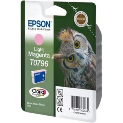 Epson T079640 svetle purpurová (light magenta) originálna cartridge