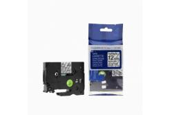 Kompatibilná páska s Brother TZ-FX131/TZe-FX131, 12mm x 8m, flexi čierna tlač/priehľadný podklad