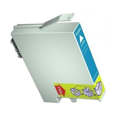 Epson T0712 azúrová (cyan) kompatibilná cartridge