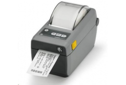 Zebra ZD410 ZD41023-D0EE00EZ tlačiareň etikiet, 12 dots/mm (300 dpi), MS, RTC, EPLII, ZPLII, USB, BT (BLE), Ethernet, dark grey