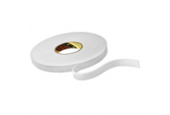 3M 9515W Montážní pěnová oboustranná páska, bílá, 15 mm x 33 m