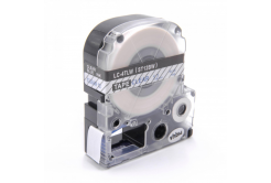 Epson LC-ST12BW, 12mm x 8m, modrý tisk / průhledný podklad, kompatibilní páska