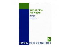 Epson Velvet Fine Art Paper, umělecký papír, sametový, bílý, A3+, 260 g/m2, 20 ks, C13S041637