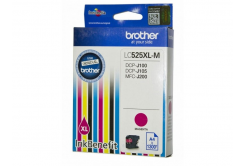 Brother LC-525XLM purpurová (magenta) originálna cartridge