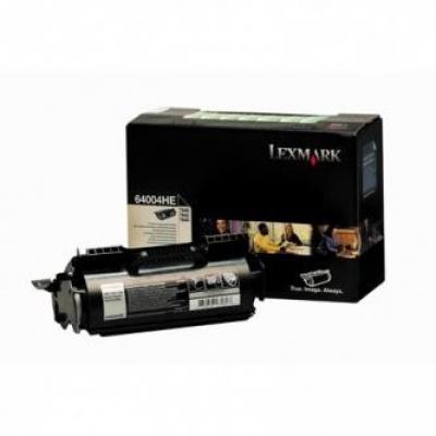 Lexmark 64004HE čierný (black) originálny toner