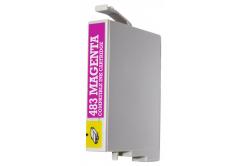 Epson T0483 purpurová (magenta) kompatibilná cartridge