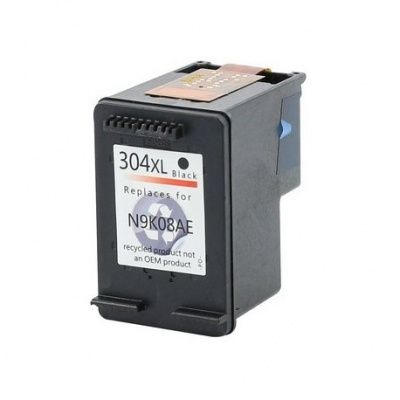 HP 304XL N9K08AE čierna (black) kompatibilna cartridge