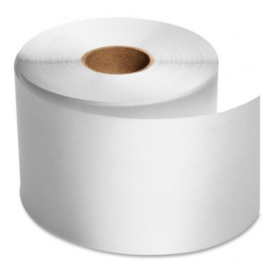 Páska plastová PVC, 30mm x 50m, F06, bílá nelepicí pro TTR, role