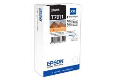 Epson originálna cartridge C13T70114010, XXL, black, 3400 str., Epson WorkForce Pro WP4000, 4500 series