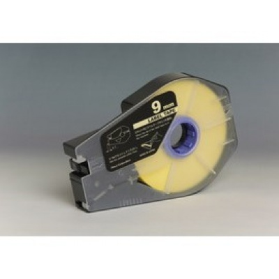 Kompatibilná samolepiaca páska pre Canon M-1 Std/M-1 Pro / Partex, 9mm x 30m, kazeta, žltá