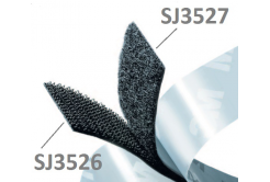 3M Hook & Loop SJ3527 bílý, smyčky, 25 mm x 45,7 m
