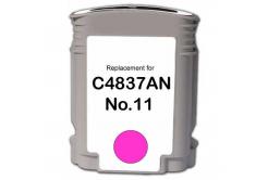 HP č.11 C4837A purpurová (magenta) kompatibilna cartridge