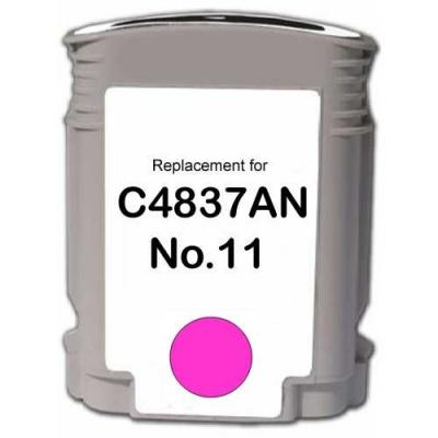 HP 11 C4837A purpurová (magenta) kompatibilna cartridge