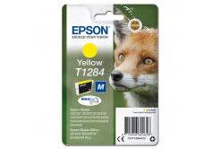 Epson originálna cartridge C13T12844012, T1284, yellow, 3,5ml, Epson Stylus S22, SX125, 420W, 425W, Stylus Office BX305
