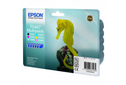 Epson originálna cartridge C13T04874010, CMYK/light C/light M, 6x13ml, Epson Stylus Photo R200, 300, 320, 340, RX500, 600, 640, photo mu