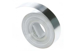 Dymo 31000, S0720160, 12mm x 4,9m, hliníková bez lepidla, originální páska