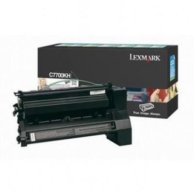 Lexmark C7700KH čierný (black) originálny toner