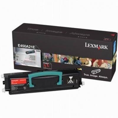 Lexmark E450A21E čierný (black) originálny toner