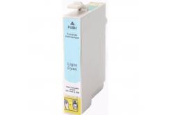 Epson T0485 svetle azúrová (light cyan) kompatibilná cartridge