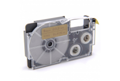 Kompatibilná páska s Casio XR-9GD1 9mm x 8m čierny tisk / zlatý podklad