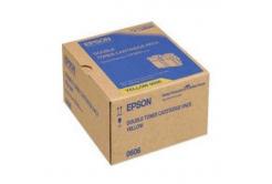 Epson C13S050606 dvojbalení žlutý (yellow) originální toner