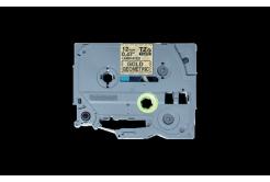 Brother TZ-MPGG31 / TZe-MPGG31, 12mm x 4m, čierna tlač / zlatý podklad, originálna páska