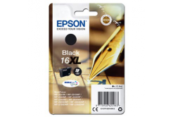 Epson originálna cartridge C13T16314012, T163140, 16XL, black, 12.9ml, Epson WorkForce WF-2540WF, WF-2530WF, WF-2520NF, WF-2010