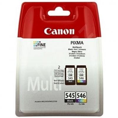 Canon PG-545 + CL-546 multipack originálna cartridge