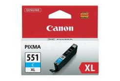 Canon CLI-551XLC azúrová (cyan) originálna cartridge