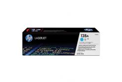 HP 128A CE321A azúrový (cyan) originálný toner