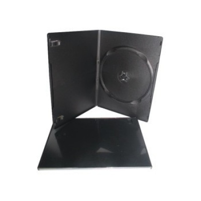 BOX na 1 DVD SLIM 7mm čierný