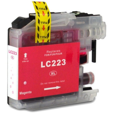 Brother LC-223XL purpurová (magenta) kompatibilna cartridge