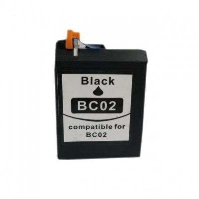 Canon BC-02 čierna (black) kompatibilná cartridge